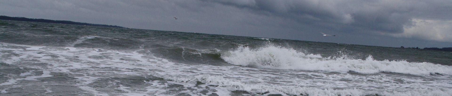 Sturm an der Eckernförder Bucht